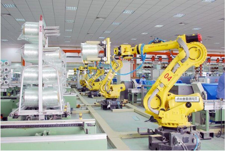 机器人组装线