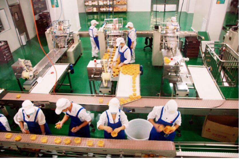食品生产输送线