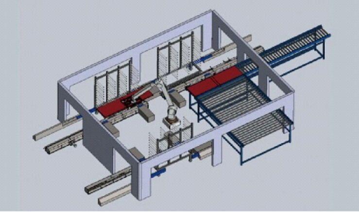 机器手堆垛方案